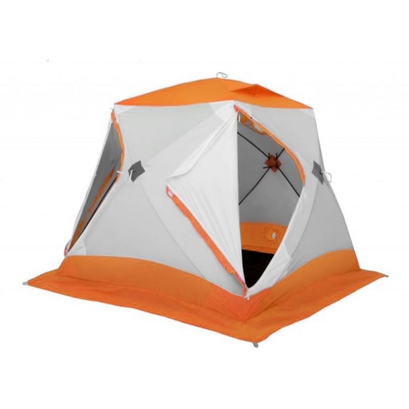Зимняя палатка ЛОТОС Куб 3 Классик А8 (оранжевый)