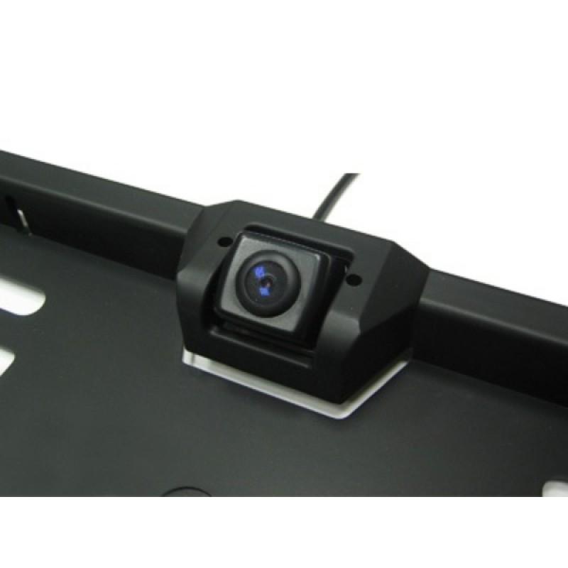 Камера заднего вида в рамке номерного знака AVIS AVS308CPR (фото 2)