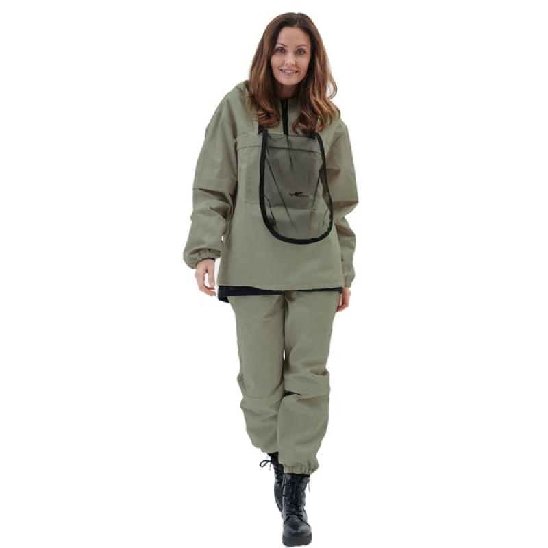 Женский противоэнцефалитный костюм KATRAN СТРАЖ (Смесовый, олива) (фото 2)