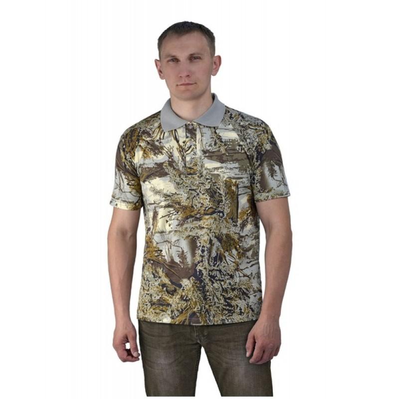 Рубашка-поло URSUS Серый мох (РУБ001-К15)