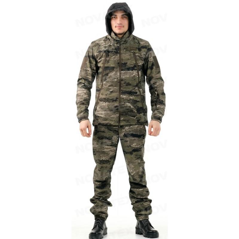 Летний костюм для охоты и рыбалки «Альфа» +5 (софт-шелл, рельеф) 7.62 (фото 2)