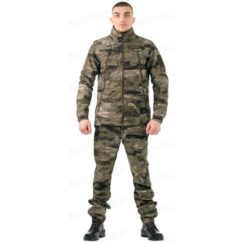Летний костюм для охоты и рыбалки «Альфа» +5 (софт-шелл, рельеф) 7.62 (фото 3)