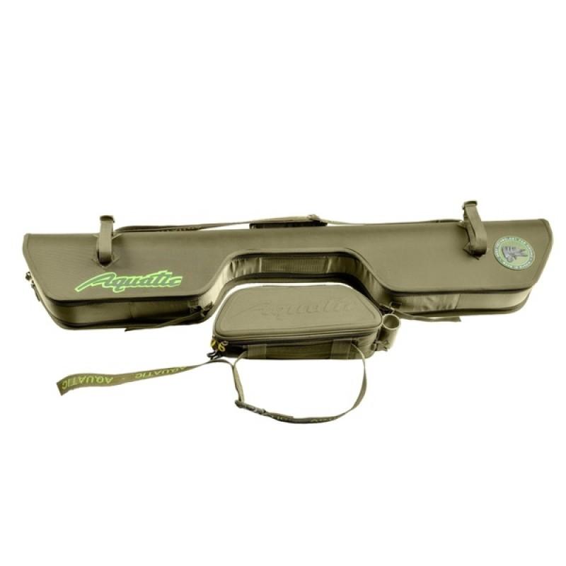 Чехол для удилищ Aquatic Ч-30К жёсткий (120 см, цвет: коричневый) (фото 2)
