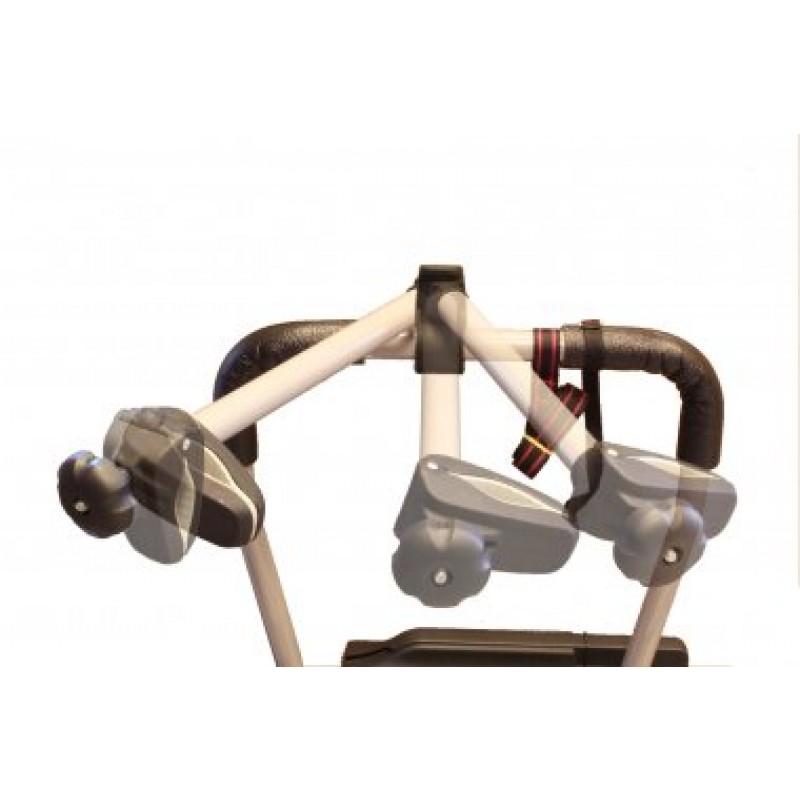 Адаптер 3D для фиксации 3-го велосипеда для Padova (серебро) (фото 3)