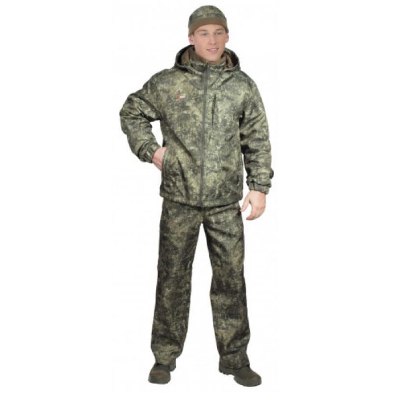 Осенний костюм для охоты и рыбалки ОКРУГ «ЗАРЯ» (Камуфляж М-49) (фото 3)