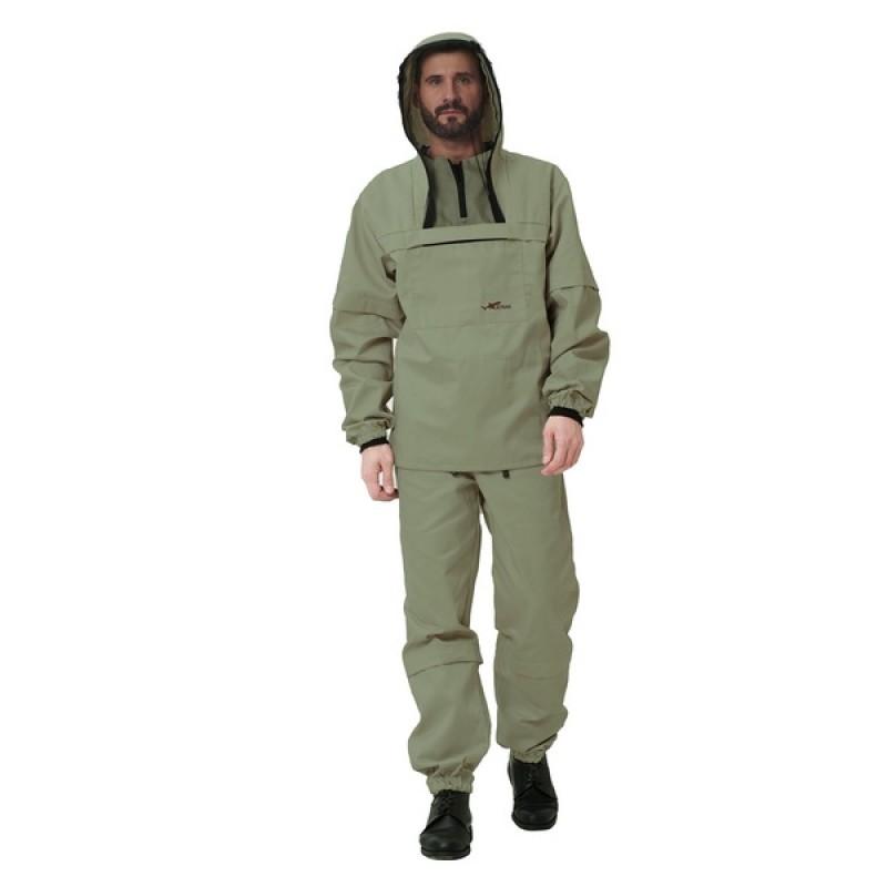 Противоэнцефалитный костюм KATRAN СТРАЖ (Смесовая, олива) (фото 2)