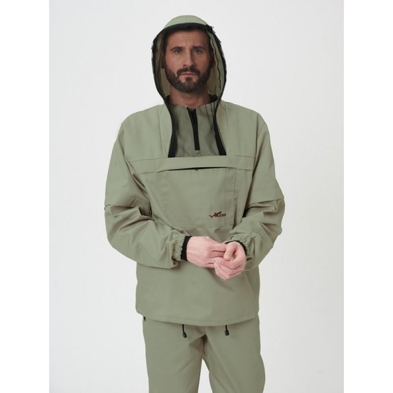 Противоэнцефалитный костюм KATRAN СТРАЖ (Смесовая, олива) (фото 3)