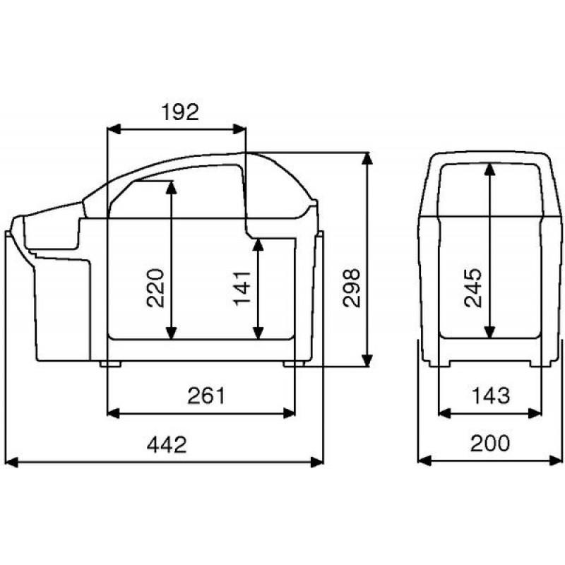 Автомобильный холодильник Dometic BordBar TB-08 8Л 12В (фото 3)