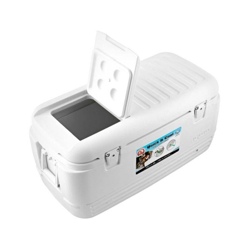 Изотермический контейнер Igloo Quick&Cool 100 White (фото 3)