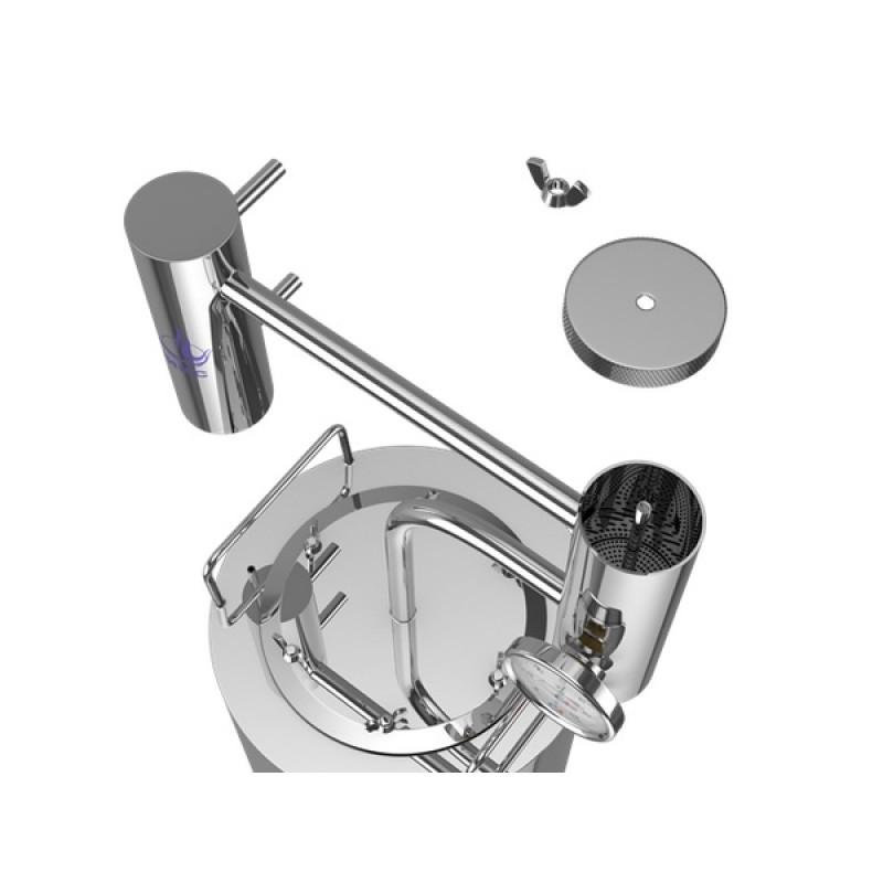 Самогонный аппарат (дистиллятор) ФЕНИКС Хозяин (С теном) 12  литров (фото 3)