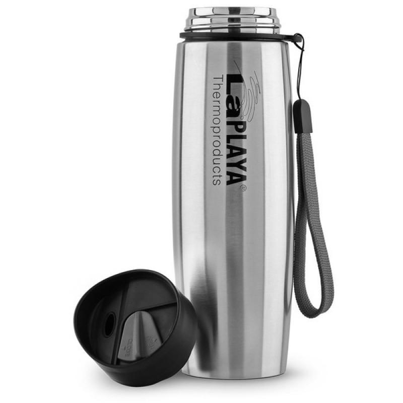 Термокружка LaPlaya Thermo Mug SS Strap 0.5L Silver (фото 2)