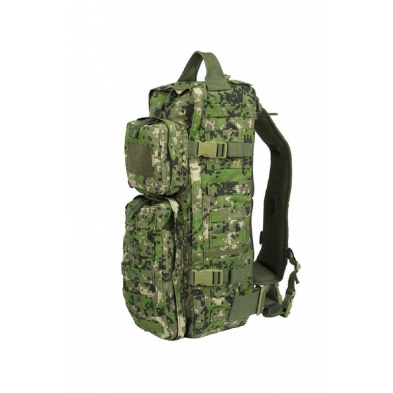 Тактический однолямочный рюкзак SSO РЫСЬ Спектр