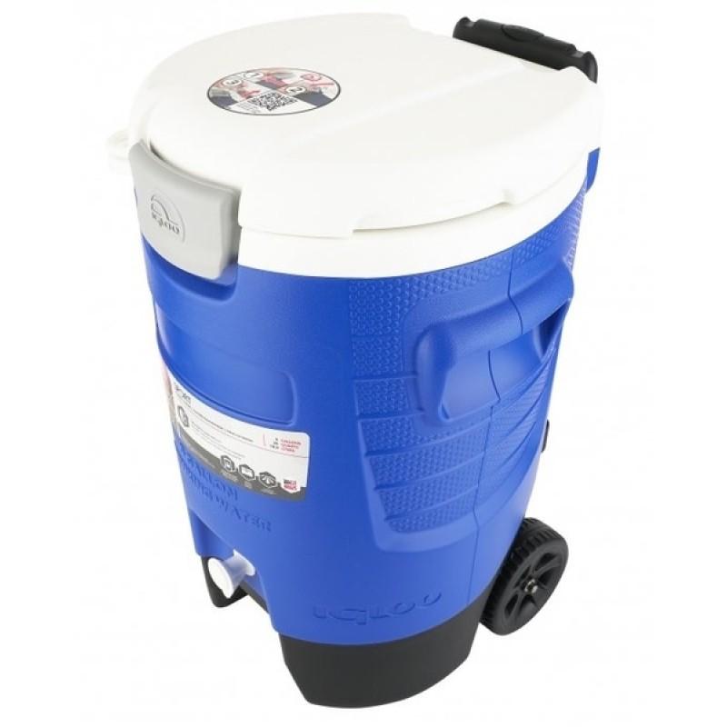Изотермический контейнер Igloo 5 Gal Roller blue (фото 2)