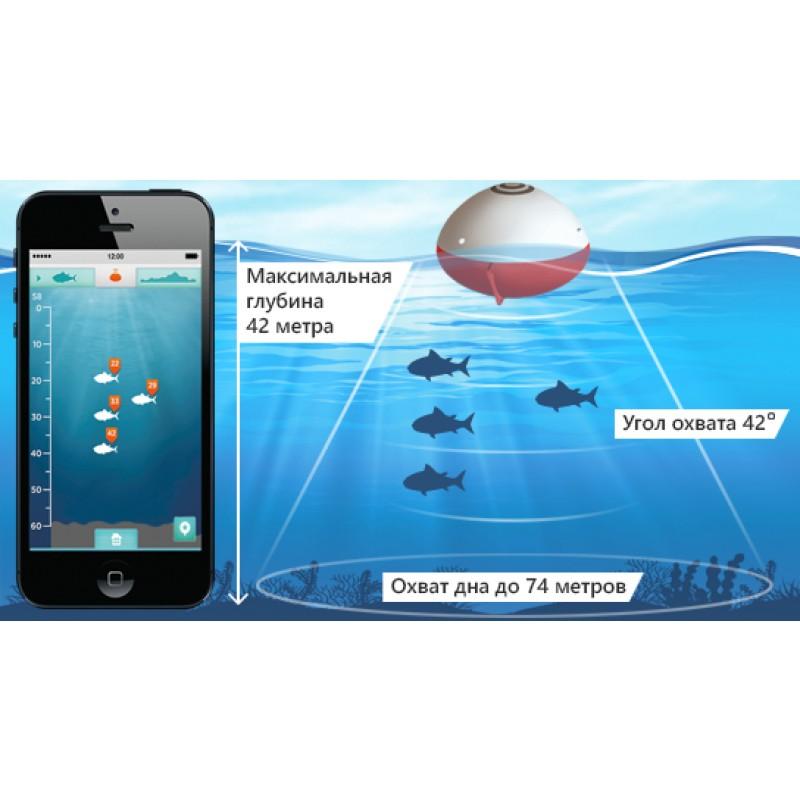 Беспроводной эхолот iBobber Pulse Bluetooth Smart (+ Леска в подарок!) (фото 10)