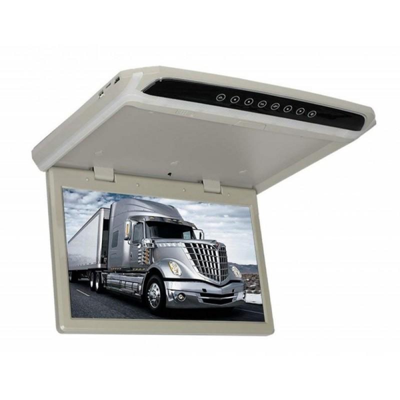Потолочный монитор для автомобиля Потолочный монитор 17.3 ERGO ER174FH серый/черный