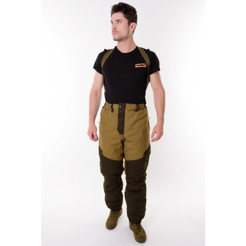 Демисезонный костюм для охоты и рыбалки ONERUS Горный -5 (Палатка, св. хаки) Флис подклад (фото 2)