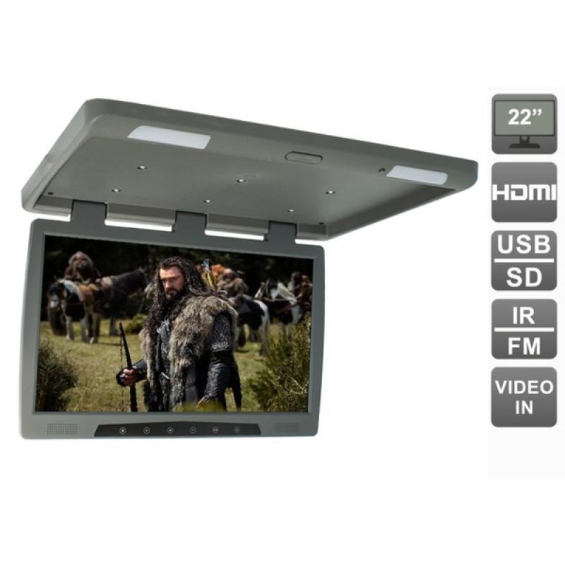 Потолочный монитор для автомобиля Потолочный монитор 22 AVEL AVS2220MPP (серый) (фото 2)