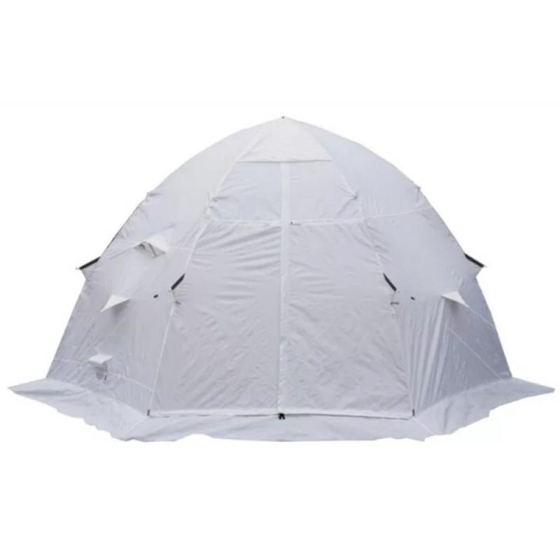 Зимняя палатка ЛОТОС 5С (белый, пол ПУ 4000)