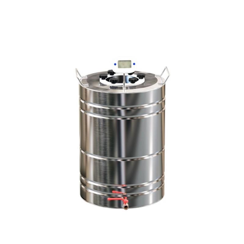 Самогонный аппарат (дистиллятор) ФЕНИКС Спартак (Классический куб) 30 литров + кран. (фото 3)