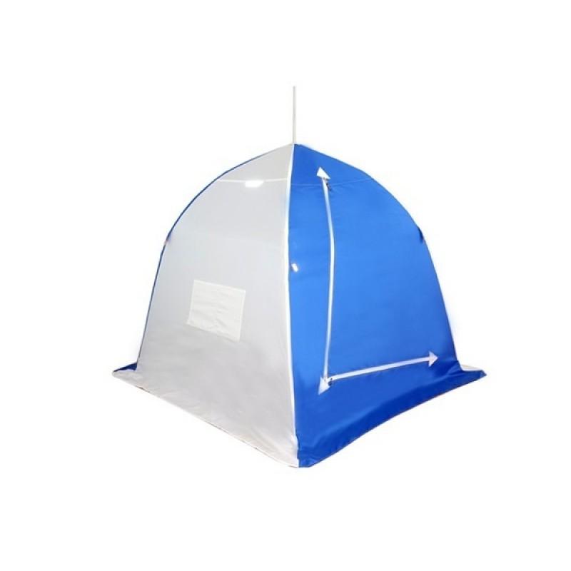 Палатка для зимней рыбалки Зонт Пингвин 1 (1-сл, четырехлучевая)
