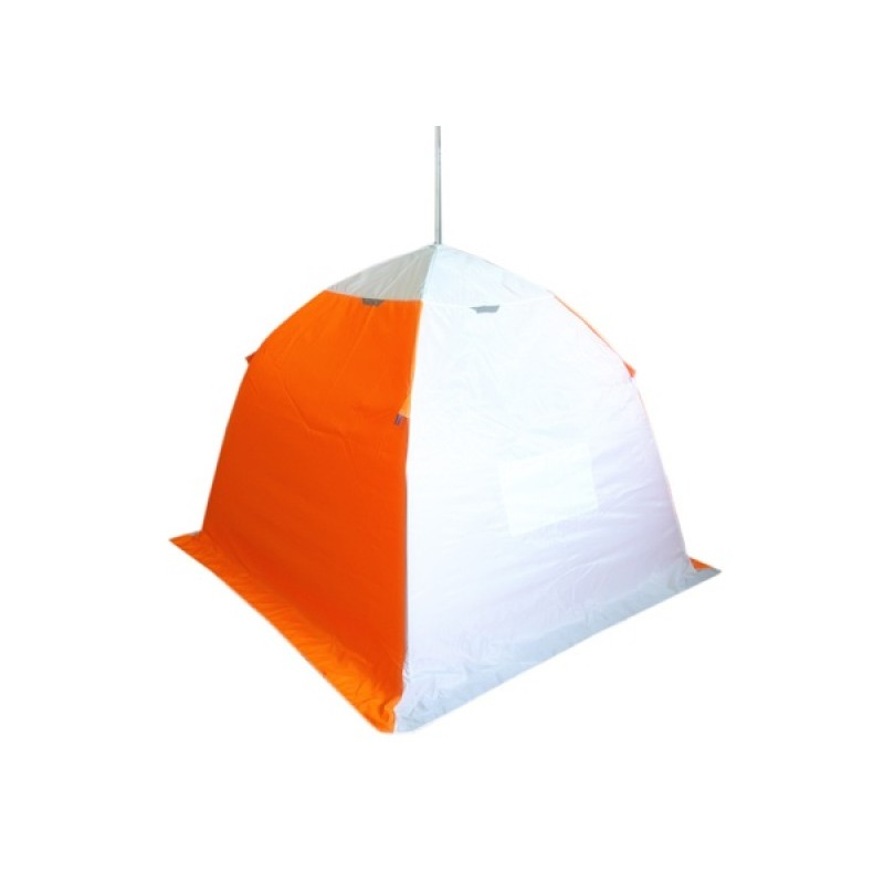 Палатка для зимней рыбалки Зонт Пингвин 1 (1-сл, четырехлучевая) (фото 2)