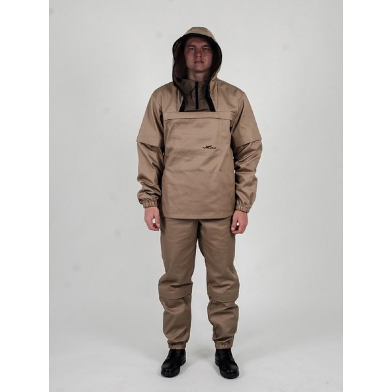 Противоэнцефалитный костюм KATRAN СТРАЖ (Твил, бежевый) (фото 2)