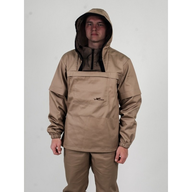 Противоэнцефалитный костюм KATRAN СТРАЖ (Твил, бежевый) (фото 3)