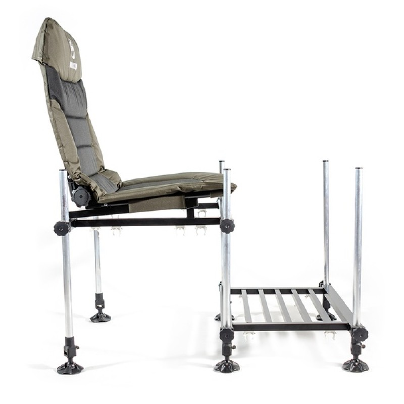 Кресло фидерное КЕДР MAX с педаной SKF-03 (алюминий) (фото 3)