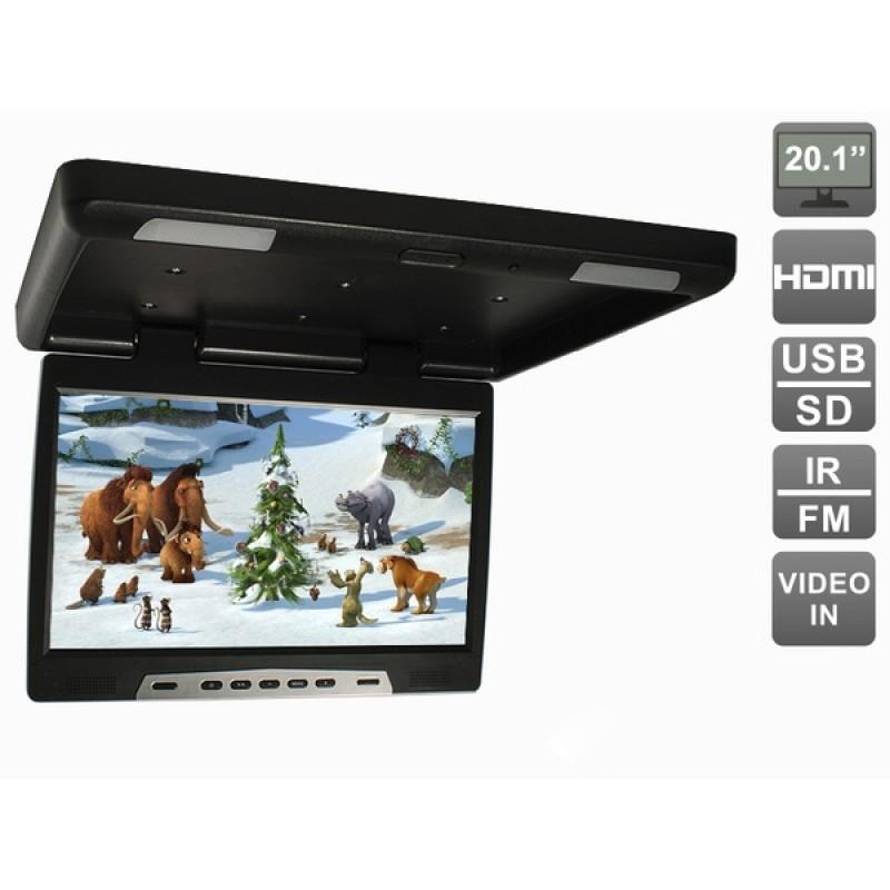Потолочный монитор для автомобиля Потолочный монитор 20,1 AVEL AVS2020MPP (черный) (фото 2)