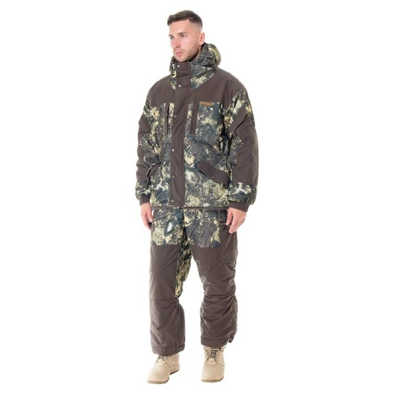 Зимний костюм для охоты и рыбалки АНГАРА -30C (Алова, хаки) Huntsman