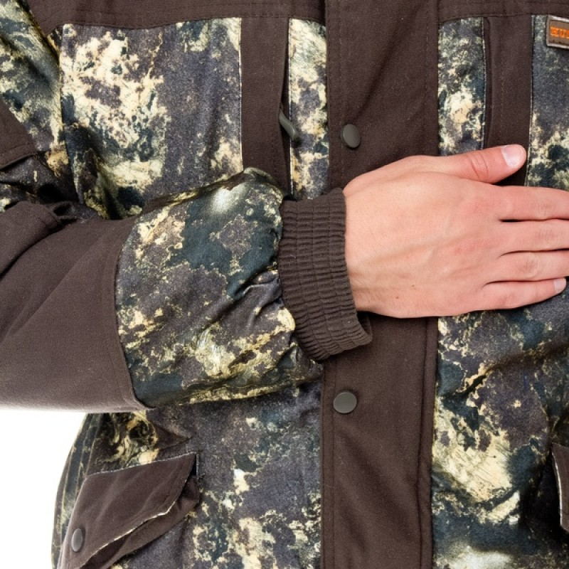 Зимний костюм для охоты и рыбалки АНГАРА -30C (Алова, хаки) Huntsman (фото 3)