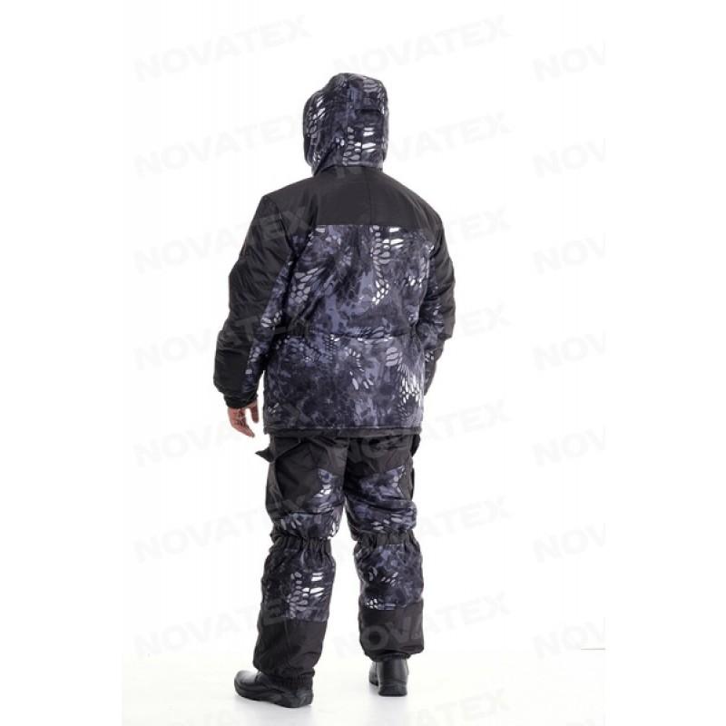 Зимний костюм для охоты и рыбалки «Горка Зима» -45° (Алова, Черный питон) 7,62 (фото 3)