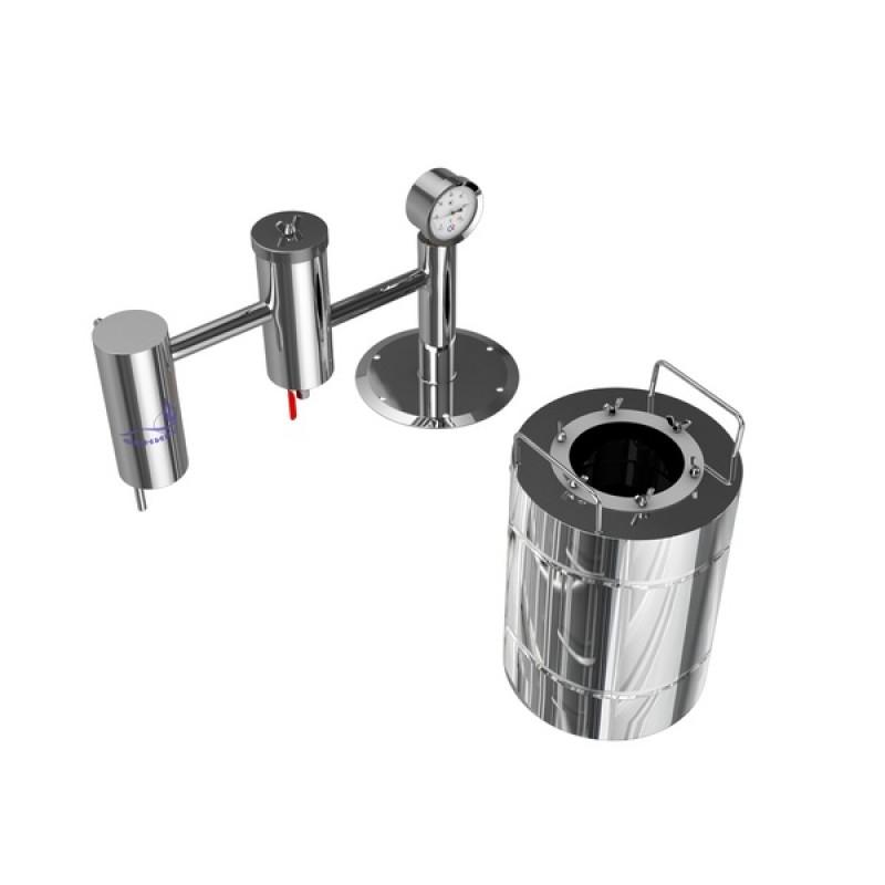 Самогонный аппарат (дистиллятор) ФЕНИКС Народный (С теном) 30 литров (фото 3)