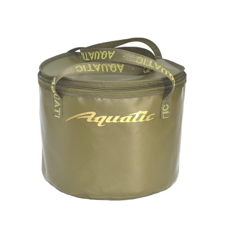 Ведро для замешивания прикормки Aquatic В-05 (герметичное, с крышкой)