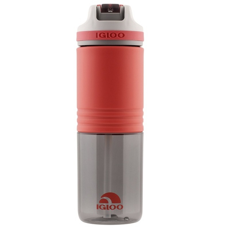 Пластиковая бутылка для воды IGLOO Hydration Swift 710 мл SUGAR CORAL