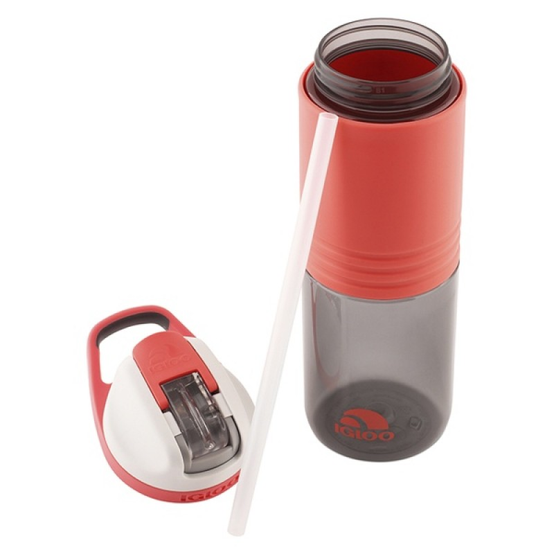 Пластиковая бутылка для воды IGLOO Hydration Swift 710 мл SUGAR CORAL (фото 2)