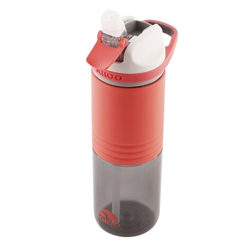 Пластиковая бутылка для воды IGLOO Hydration Swift 710 мл SUGAR CORAL (фото 3)