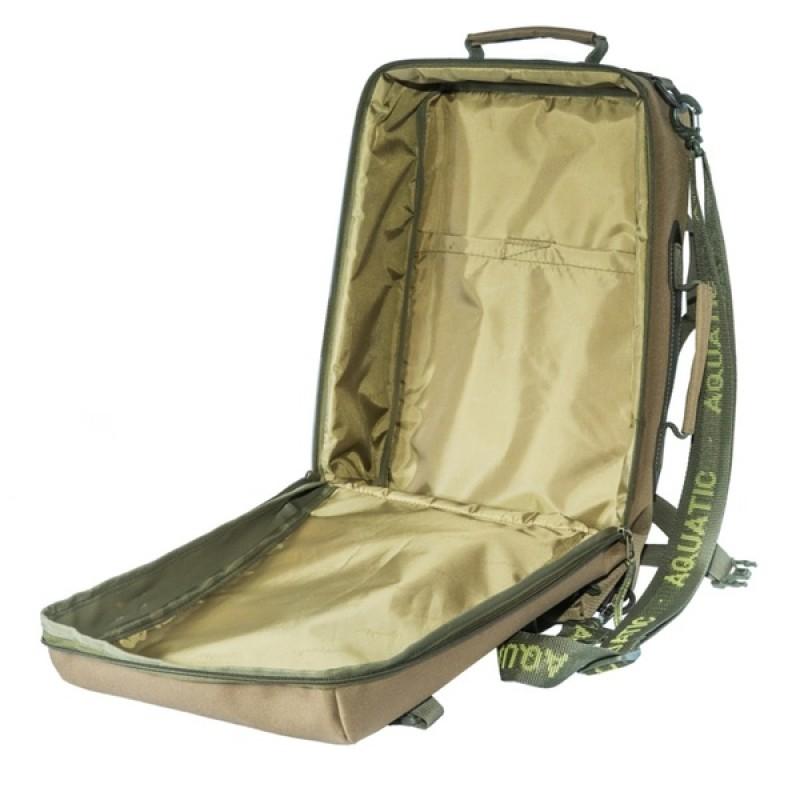 Сумка-рюкзак Aquatic С-28К (цвет: коричневый) (фото 3)