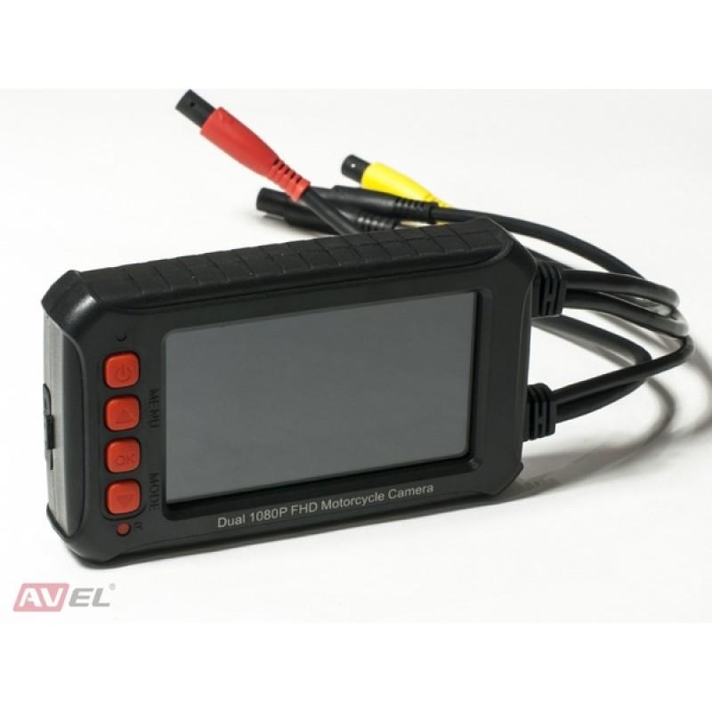 Видеорегистратор AVEL AVS540DVR для мотоцикла (фото 2)