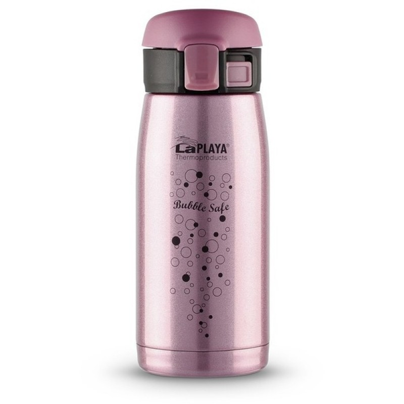 Термокружка LaPlaya Travel Tumbler Bubble Safe 0.35L Pink (560115)