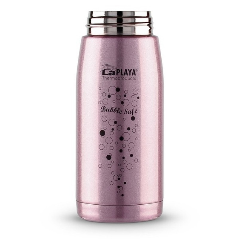 Термокружка LaPlaya Travel Tumbler Bubble Safe 0.35L Pink (560115) (фото 2)