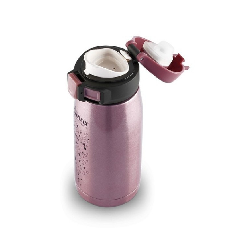 Термокружка LaPlaya Travel Tumbler Bubble Safe 0.35L Pink (560115) (фото 3)