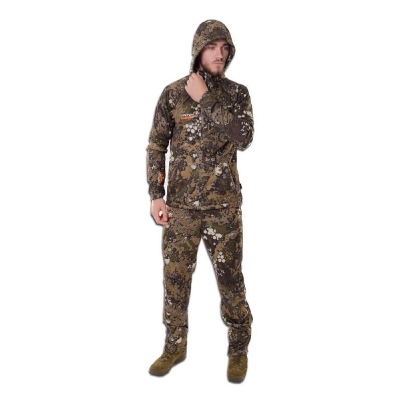 Летний костюм для охоты и рыбалки TRITON Craft Light (StretchShell, бежевый)