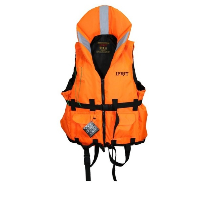 Жилет спасательный Ifrit-110 (цвет. оранж. до 110 кг)