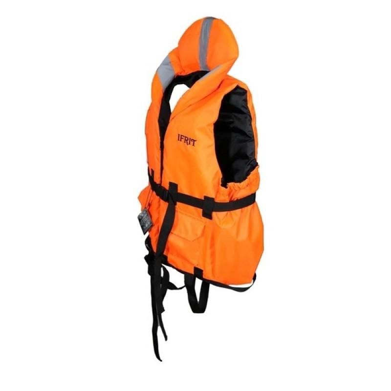 Жилет спасательный Ifrit-110 (цвет. оранж. до 110 кг) (фото 2)