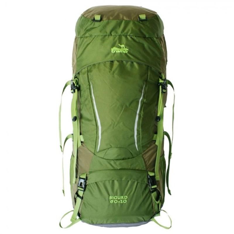 Рюкзак Tramp Sigurd 60+10 (зеленый)