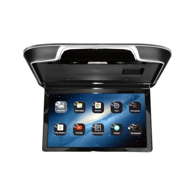 Потолочный монитор для автомобиля Потолочный СМАРТ ТВ 15,6 ERGO ER1550AN (1920X1080, ANDROID) черный (фото 2)