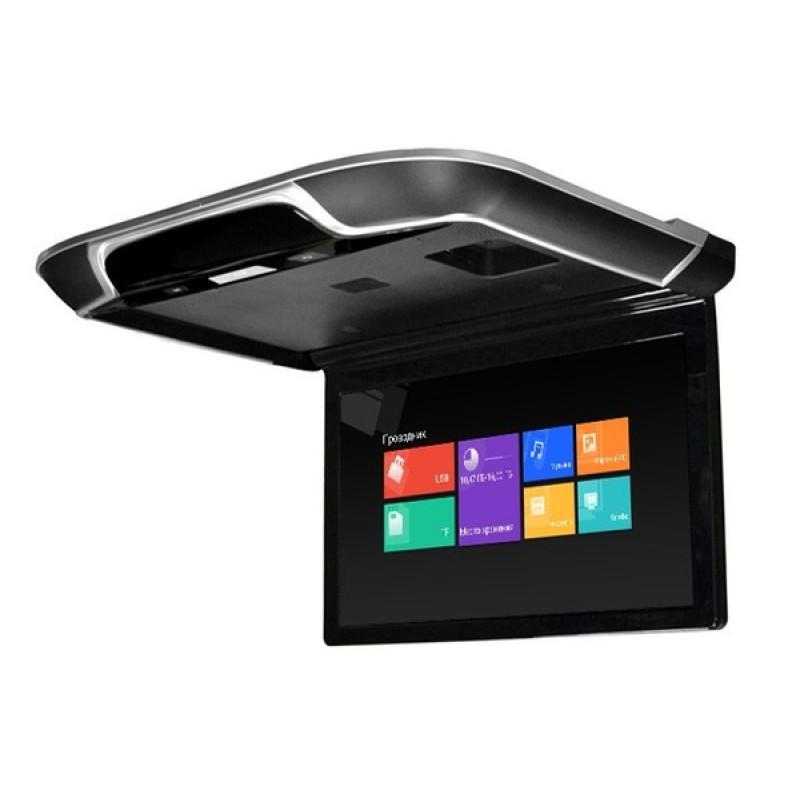 Потолочный монитор для автомобиля Потолочный СМАРТ ТВ 15,6 ERGO ER1550AN (1920X1080, ANDROID) черный (фото 3)
