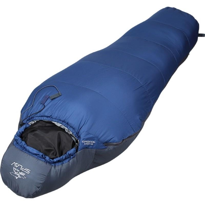 Спальный мешок СПЛАВ Expedition Junior 150 (синий) (фото 2)