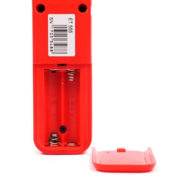 Толщиномер лакокрасочного покрытия Etari ET 555 (+ Два чехла и батарейки в подарок!) (фото 4)